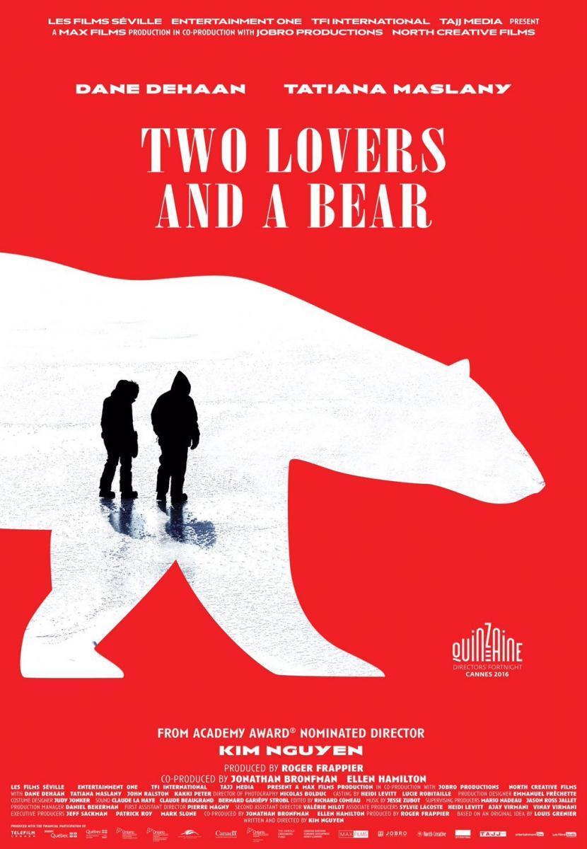 Dos amantes y un oso. del director Kim Nguyen