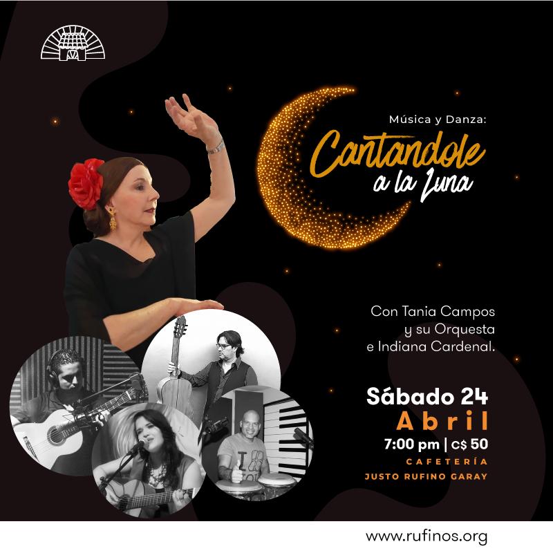 """Cafetería: Música y danza """"Cantandole a la Luna"""""""